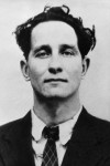 00/00/1965. Portrait of the head of the gangsters who committed the attack in Glasgow-London postal train on August 8, 1963. Portrait en 1965 du chef des gangsters qui ont commis l'attaque sur le train postal Glasgow-Londres le 8 ao??t 1963.