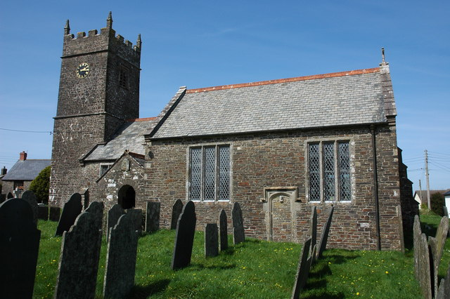 Sutcombe church